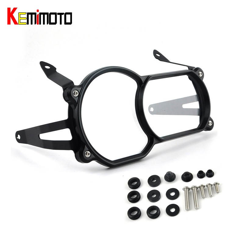 KEMiMOTO Motorcycle Headlight Guard Protector Quick Release Fastener For BMW R1200GS LC 2013-2016 Adventure LC 2014-2016 new headlight protector guard cover with quick release fastener titanium for bmw r1200gs lc 13 17 r1200gs lc adventure 14 17