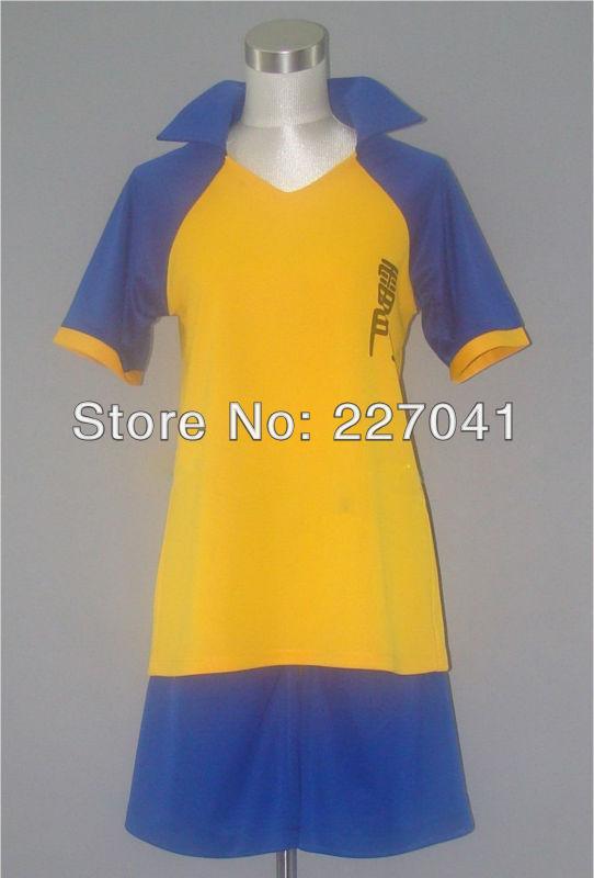 Inazuma Eleven GO Academy Soccer Team Club Short Uniform Free Shipping