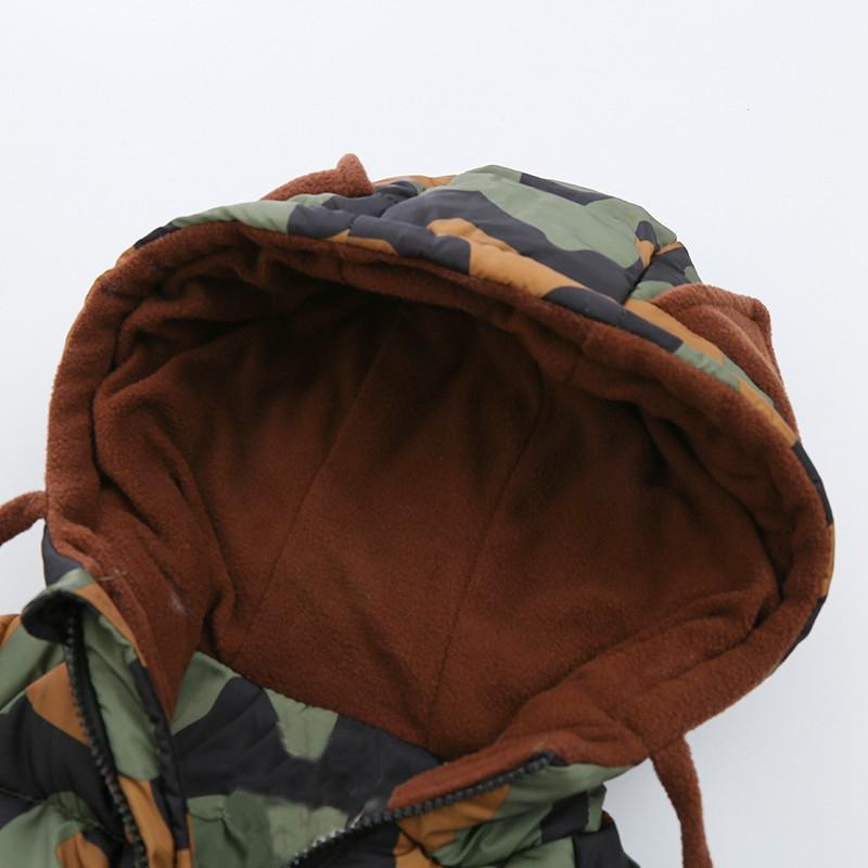 CROAL CHERIE 80-120cm Children`s Winter Jackets For Teenage Girls Warm Winter Parkas For Boys Camouflage Infant Overcoat (1)