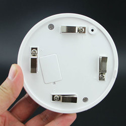 Przewodowy czujnik sieci detektor dymu na sprzedaż/optyczne elementy hosta czujnik dymu z alarmem dla system alarmowy gsm ND998