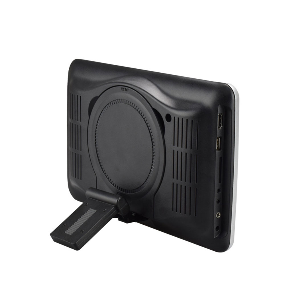 TFT-LCD HDMI USB SD DVD Monitor Car Headrest Player Universal Portable Automotive FM Transmitter