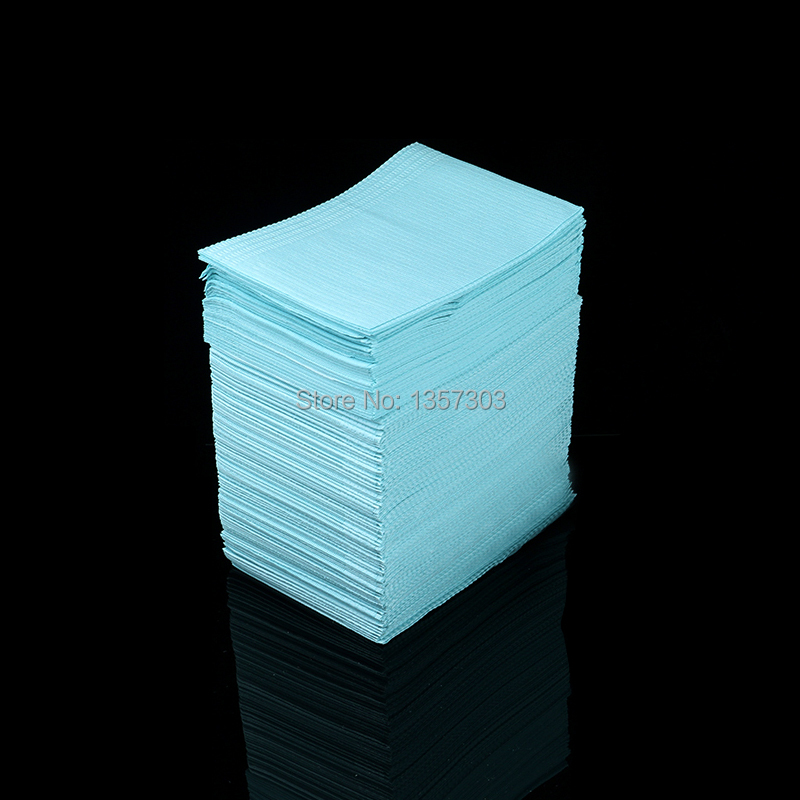 Newest 50Pcs Disposable Tattoo Clean Pad Waterproof Medical Paper Tablecloths Mat Double Layer Sheets Tattoo Accessories 45*33cm