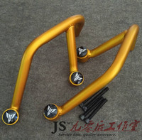 Motorcycle engine engine crash protection iron frame protection bar is applicable to yamaha MT09 FZ09, 2013, 2015, 2016, general