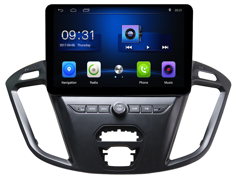 2+32G Car Multimedia Player Stereo Android 7.0 <font><b>GPS</b></font> For <font><b>Ford</b></font> Tourneo <font><b>Transit</b></font> 150 250 350 350HD 2012 2013 2014 2015 2016 2017 2018 image