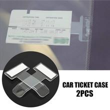 Автомобильный парковочный билетный зажим из углеродного волокна для toyota aygo a golf 5 ibiza dacia duster fiat 500 suzuki seat honda civic