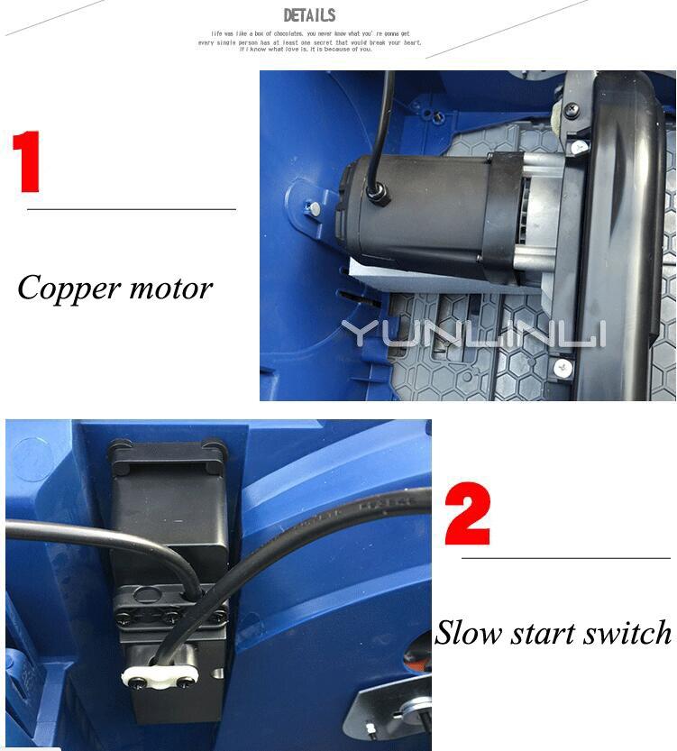 elétrica serra circular M1H-ZP-254C