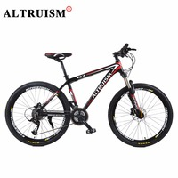 Altruism X9 Mountain Bike Aluminum Floding Bicycle 21 Speed 26 Inch Bicicleta Bisiklet Bmx Double Disc