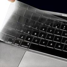 Для Apple Macbook pro13/11Air 13/15 Retina12 дюймов все серии Силиконовый чехол для клавиатуры прозрачная защитная пленка EU/US