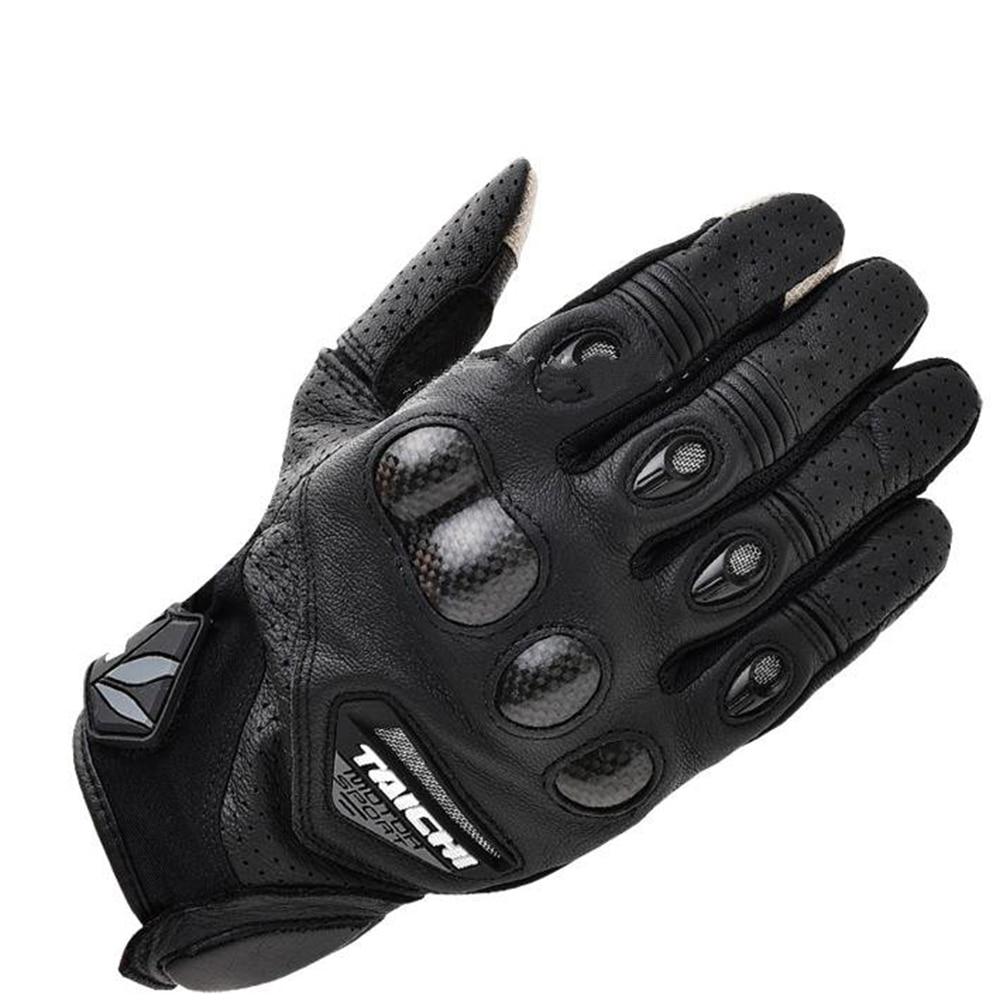 Sport Herren Echtleder Mesh Perforiert Driving Motorradhandschuhe Driving Handschuhe Camping & Outdoor