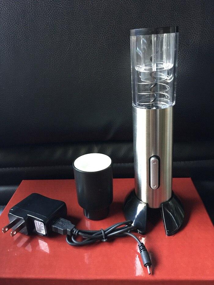USB rechargeable électrique automatique ouvre-bouteille de vin électrique tire-bouchon électrique ouvre-bouteille électrique outil coupe-feuille