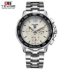 TEVISE Man Automatic Mechanical Watch Men