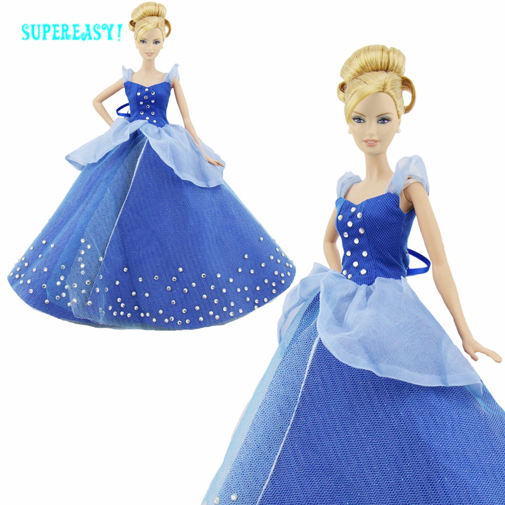 Fairy Tale Role Dress Copy Cinderella Wedding Party Dancing Princess Gown Ball Skirt Clothes For Barbie Doll Accessories Gifts светильники trousselier абажур princess fairy 34х22 см