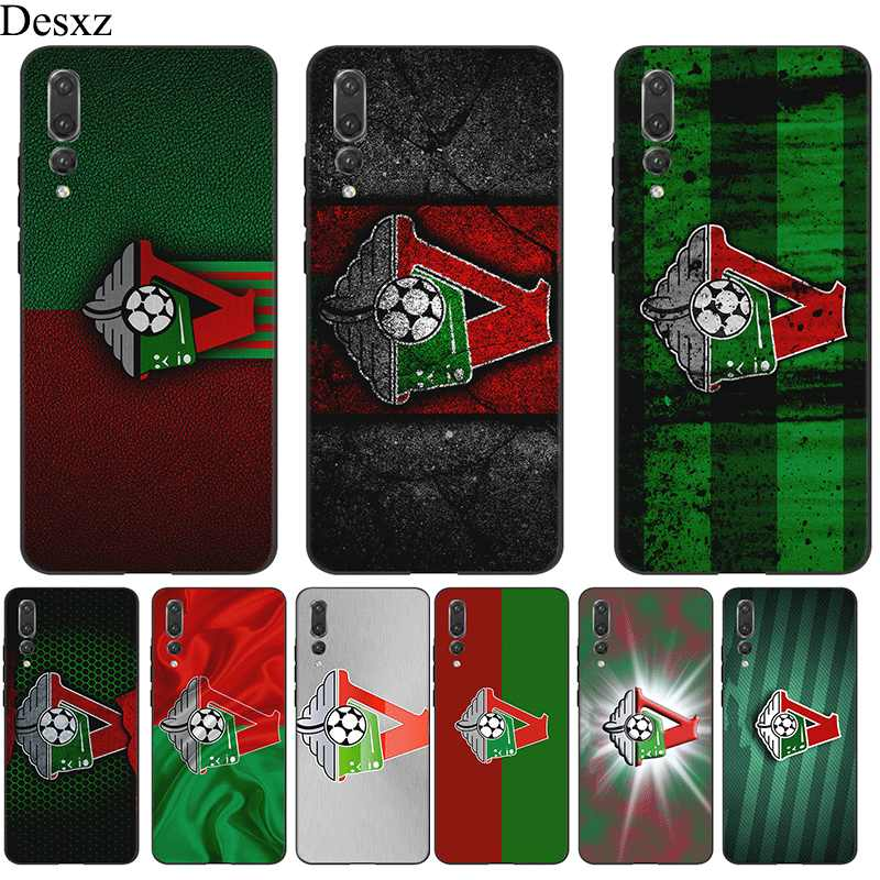 Desxz Silicone Mobile Phone Case For Honor Note 10 6A 7A 7X 8 8X 8C 9 Lite Cover Moscow Football Club Logo Bag