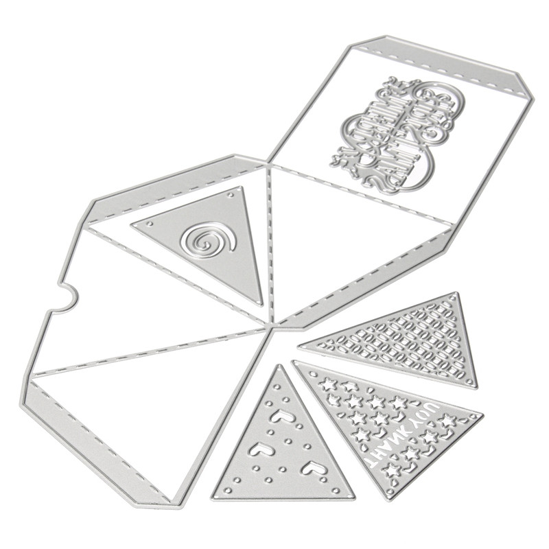 Greeting Cards Flower Style Metal Cutting Dies Paper Cards Diary Crafts/%#