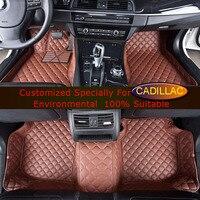 Car Floor Mats For Cadillac ATS ATSL CTS 2 4 Doors CT6 SLS SRX XTS XT5