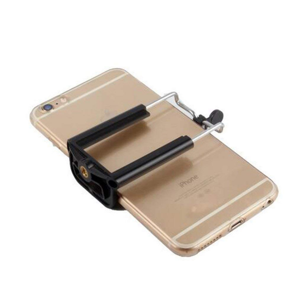 Walway Universal Cell Phone Clip Holder Camera Bracket Smartphone Attachment for iPhone 8// 8 Plus// 7// 7 Plus// 6// 6S// 6 Plus// 5// 5S// 5C Samsung Galaxy S7 S6 S5 S4 S3 S2 and More Tripod Mount Adapter