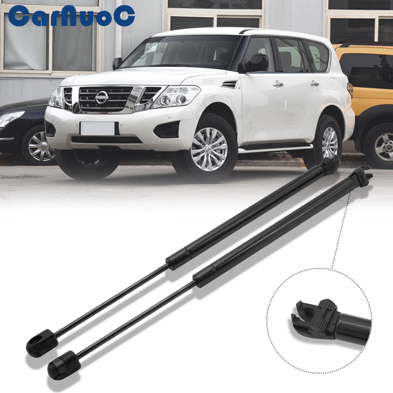 2pcs Car Styling Car Trunk Rear Boot Tailgate Gas Assist Slowdown Strut Lift Support FOR Nissan Pathfinder R51 2005-2013(China)