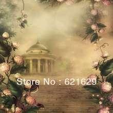 Dreamy landscape 8'x8′ CP Computer-painted Scenic Photography Background Photo Studio Backdrop ZJZ-347