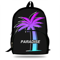 New Animes Vaporwave 90s Aesthetic Printing Schoolbag For School Teenage Boys Girls Fashion Casual Backpack For Kids Students