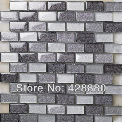 Crystal Gl Mosaic Tiles Subway Tile