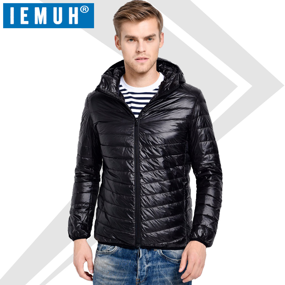White Duck Down Jacket Plus Size Men Casual Brand Autumn Winter Warm Coat Mens Ultralight Duck Down Jacket Male Windproof Parka