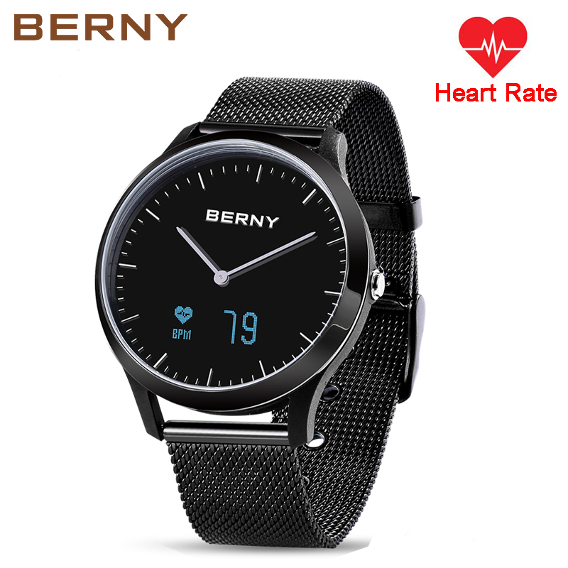 Hybrid Smart Watch Heart Rate Monitor Pedometer Sleep Tracker Bluetooth Notification Incoming Call Message Selfie Sporty Fitness