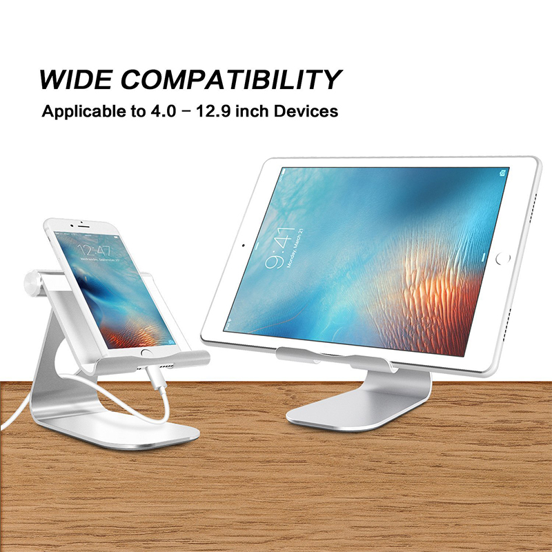 Portefeuille Tablet Stand Aluminum Adjustabl Holder For iPad Pro 10.5 Mini Air 2 iPhone X 7 8 6 6S PLus E-readers Bed Lazy Stand (7)