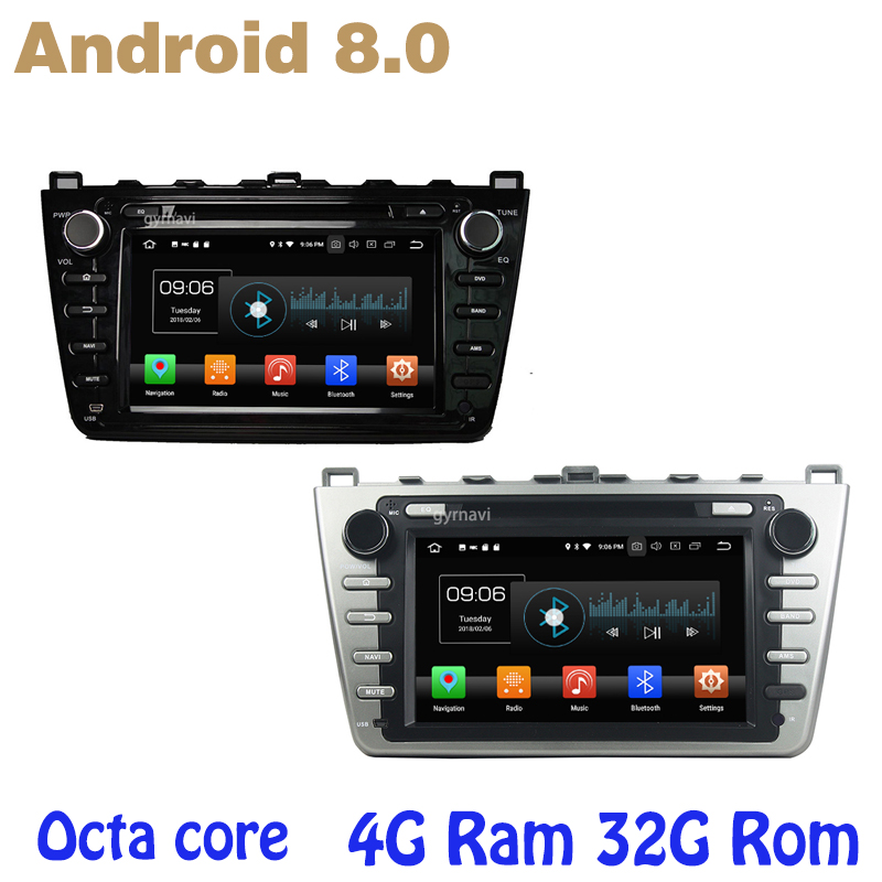 Android 8.0 Octa core PX5 car dvd gps for mazda 6 Ultra Ruiyi with canbus 4G RAM 32G ROM wifi 4g usb auto Multimedia ownice c500 octa core android 6 0 car dvd gps for mazda 6 ruiyi ultra 2008 2009 2010 2011 2012 wifi 4g radio 2gb ram bt 32g rom