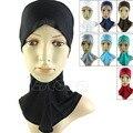 Бесплатная Доставка Исламский Хиджаб Под Шарф Cap Кость Бонне Головной Убор Группа Шеи Груди Крышка Hat