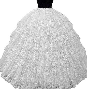 Бальное кружевное свадебное платье с кринолином, Нижняя юбка, комбинация, женские свадебные аксессуары в наличии