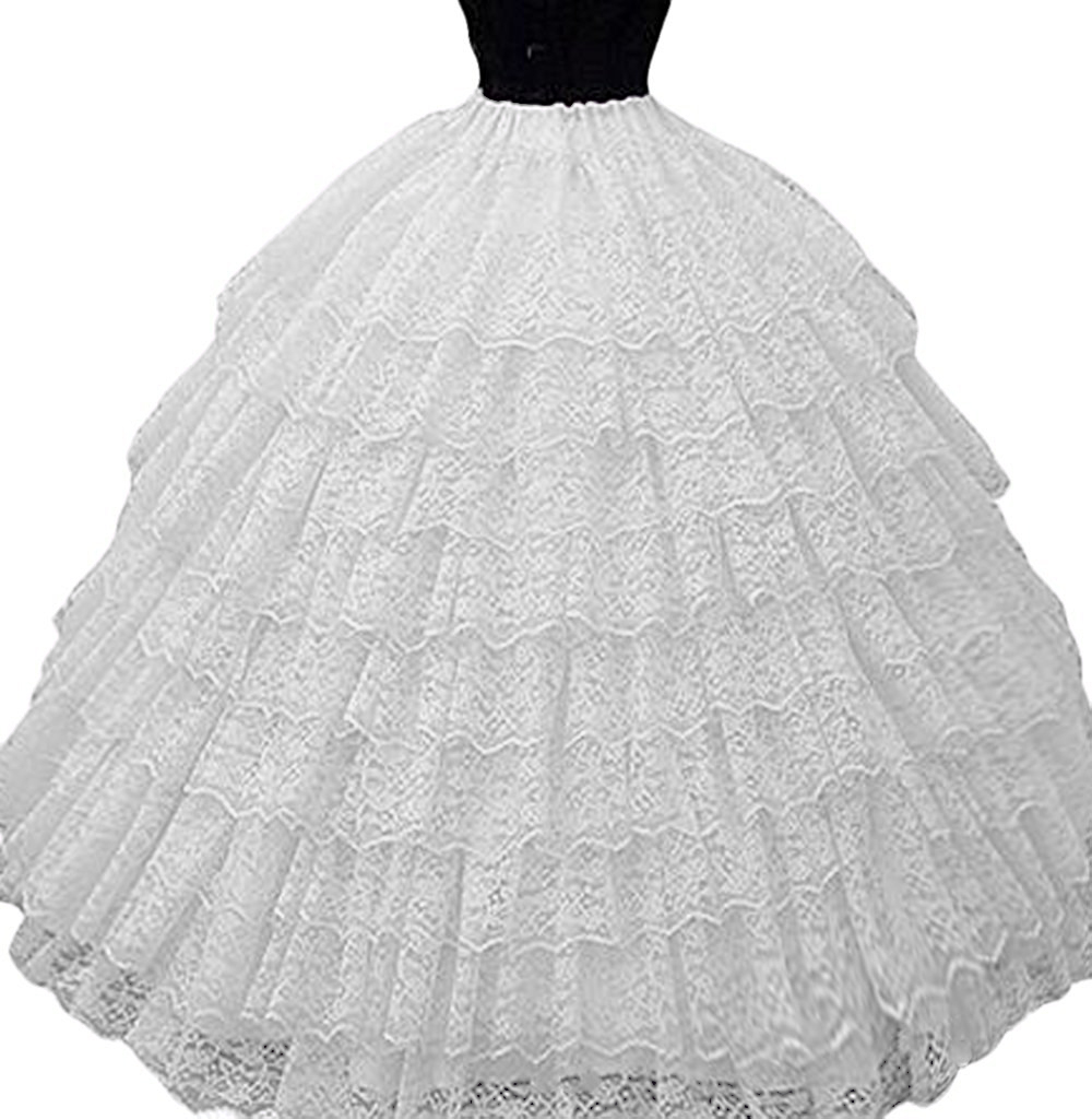 Wedding Gowns Accessories: Ball Gown Lace Full Crinoline Bridal Wedding Dresses