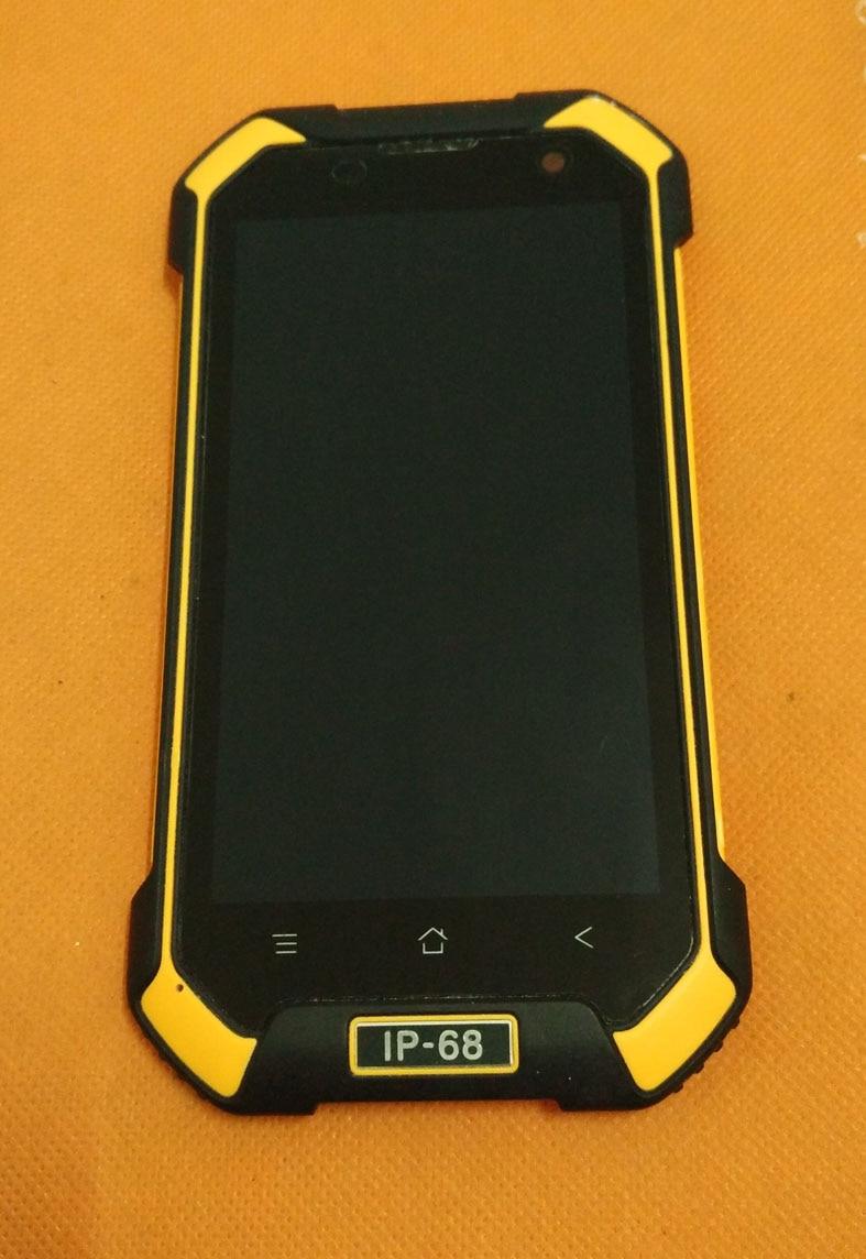 """Цена за Использовать оригинальный ЖК-дисплей Дисплей + дигитайзер Сенсорный экран + рамка для Blackview BV6000 MT6755 Octa Core 4.7 """"HD Бесплатная доставка"""