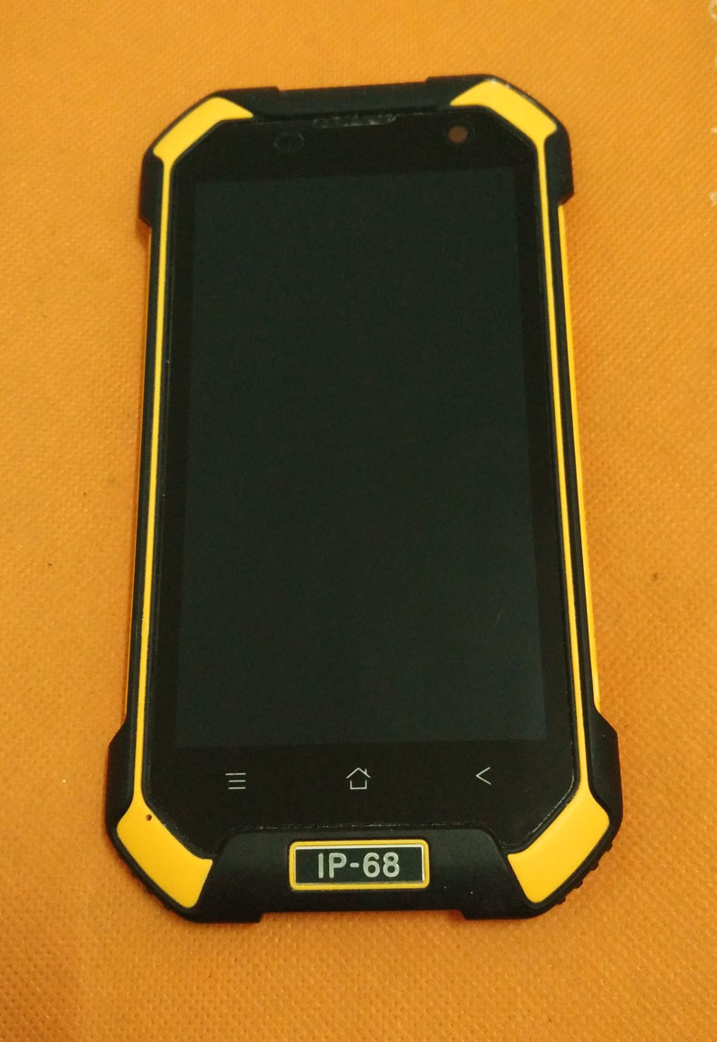 Used Original LCD Display +Digitizer Touch Screen + Frame For Blackview BV6000 MT6755 Octa Core 4.7