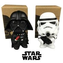2pcs Star Wars Darth Vader Stormtrooper PVC Model Action Figure Black Worrior Clone Trooper MInifigures Doll Funko Pop Baby Toys