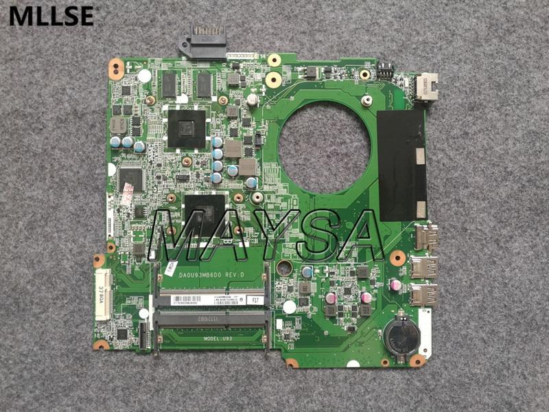 734821-501 734821-001 734820-501 734820-001 Fit For HP pavolion 15-N 15z-N 15Z-N100 15Z-N200 Laptop Motherboard DA0U93MB6D0 751495 001 for hp 15 f 14 n 15 n 17 laptop motherboard 751495 501 tested working