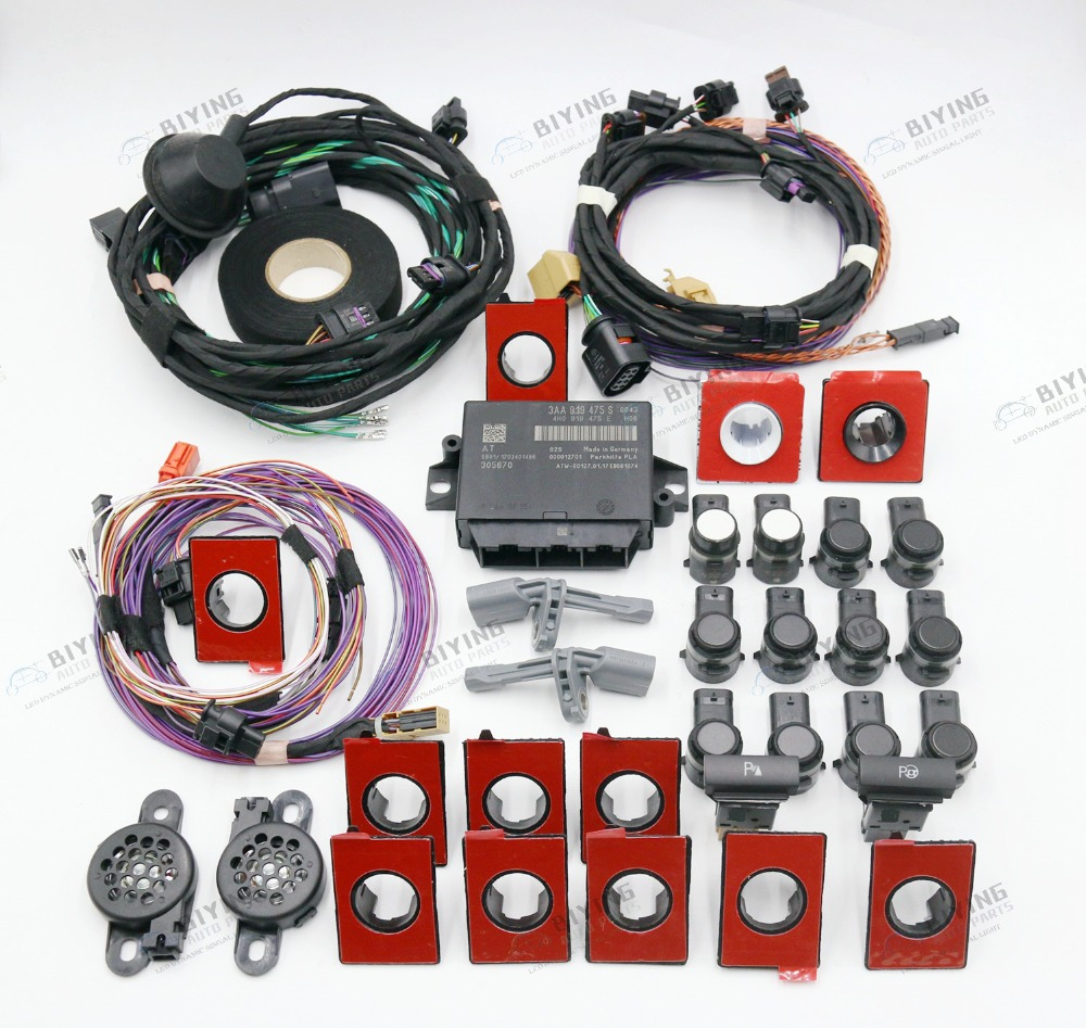 Use For Skoda Octavia A5 PLA UPGRADE Front and Rear auto Parking Assist PLA 12K OPS in Parking Sensors from Automobiles Motorcycles