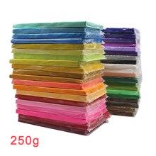 24 цвета Fimo Полимерная глина воздушный сухой Пластилин легкий мягкий лепки глина прыжки DIY Пластилин обучающий игрушка