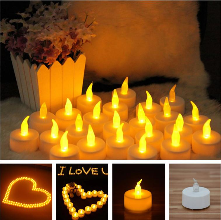 LED Tea Candle Battery Light Christmas Fairy Lights Party Wedding
