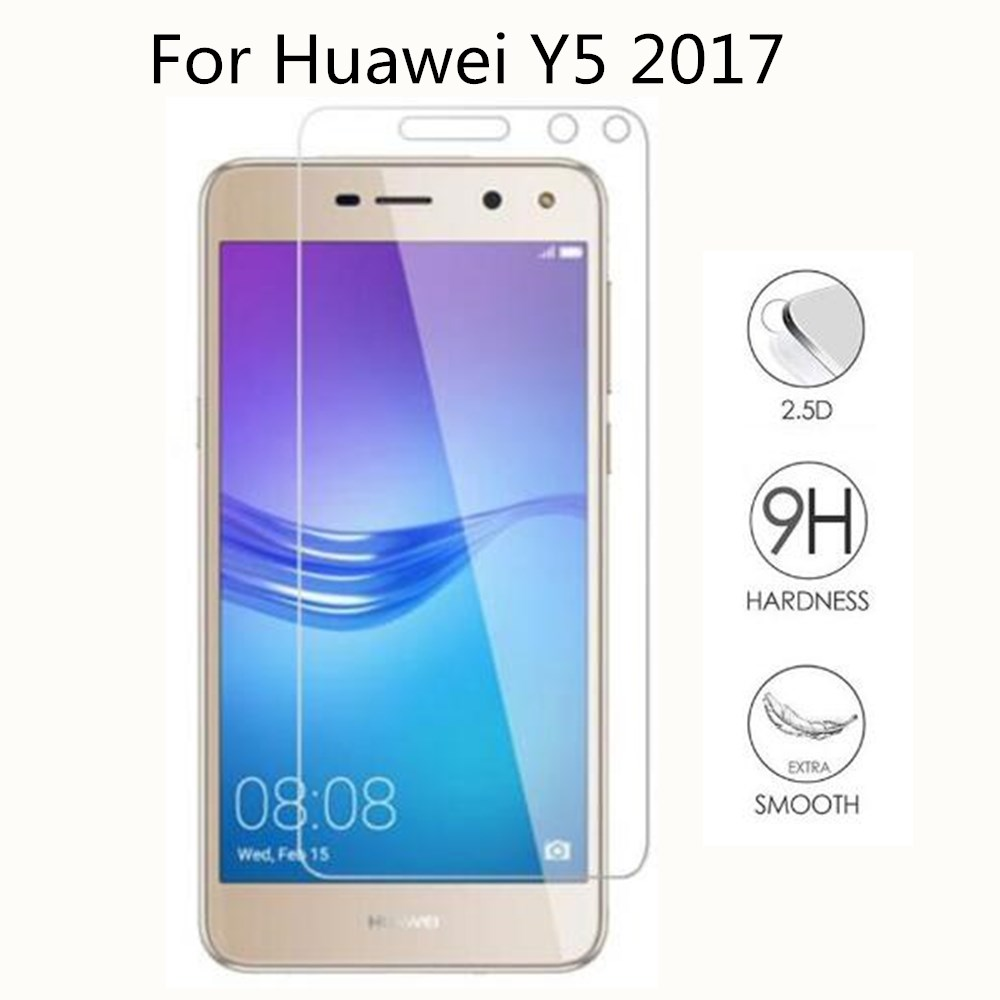 2pcs For Tempered Glass Huawei Y5 2017 Screen Protector For Huawei Y5 2017 (2017) MYA-U29 MYA-L02 MYA-L03 Tempered Glass Film