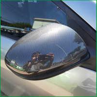 Auto Styling Tür Seite Flügel Rückspiegel Shell Gehäuse Rückspiegel Kappe Abdeckung Trim Für Mazda 2 M2 2009-2012