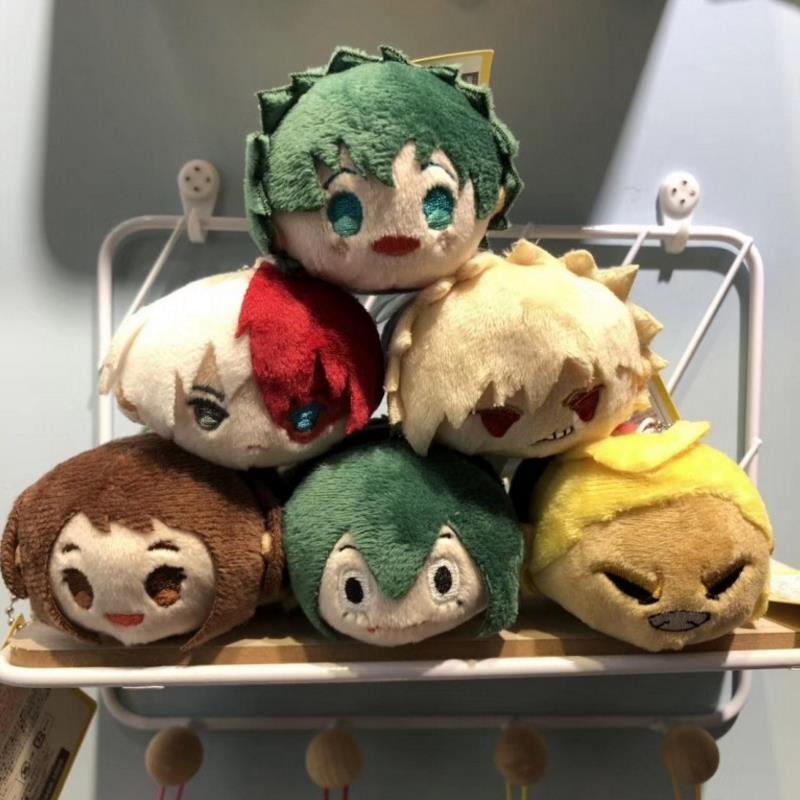 1 Pc Cute Cartoon Anime My Hero Academia Stuffed Plush Keychain Ornament Bag Pendant For Kids Gift Plush Toys