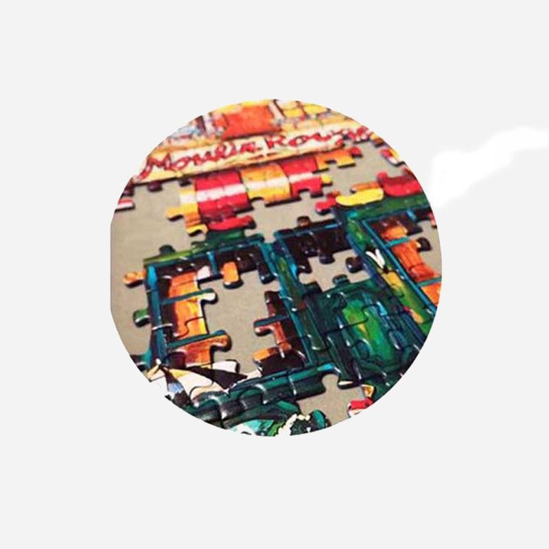 2MM Jigsaws Puzzle 1000 ცალი Ersion ხის - ფაზლები - ფოტო 3