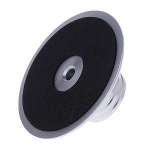 Image 4 - 80mm 새로운 LP 비닐 실버/블랙 레코드 플레이어 균형 금속 디스크 안정제 무게 클램프 턴테이블