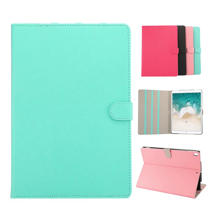For iPad Pro 10.5 2017 Smart Case Cover PU Leather Retro Slim Shockproof Protective Stand For Apple iPad Pro 10.5'' Tablet Skin