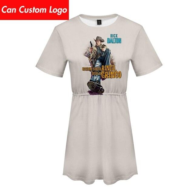 Einmal Auf EINE Zeit In Hollywood Kleid sexy anzug Heißer 2 Kurzarm kleid Pokemon kleid Hohe Qualität Casual für frauen streetwear