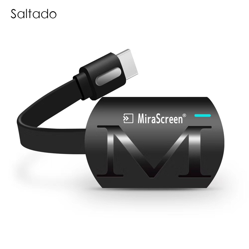 Saltado MiraScreen G4 TV Bâton Dongle Anycast Fonte HDMI WiFi Affichage Récepteur Miracast Google Chromecast 2 Mini PC Android TV