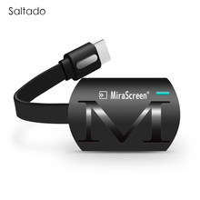 Saltado MiraScreen G4 TV Stick Dongle Anycast Cast HDMI WiFi Display Receiver Miracast Google Chromecast 2 Mini PC Android TV(China)