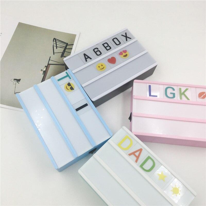 DEL Light Up message Boîte à lumière Memo Board