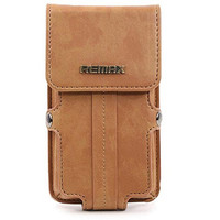 5 5 Inch Universal Luxury Retro Leather Phone Bag Case With Single Shoulder Strap For IPhone