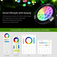 Miboxer 9W RGB+CCT LED Garden Light DC24V/AC86~265V IP65 Waterproof Outdoor LED Lighting WiFi Compatible 2.4G Wireless Remote